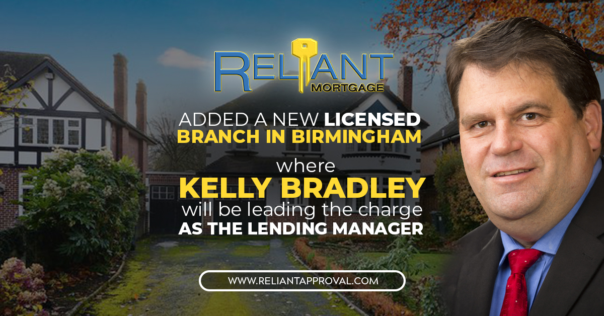 Reliant Mortgage Opens A New Branch In Alabama Expanding Their Business Circle Across Southern Region